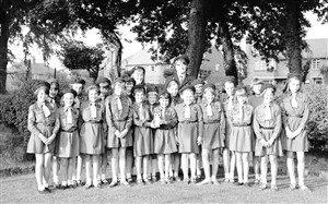 Photo: Illustrative image for the 'Guides & Brownies - July 1964' page