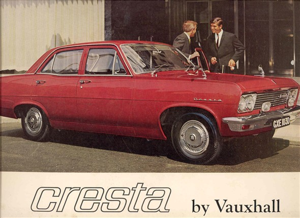 Photo:Brochure advertising the Vauxhall Cresta