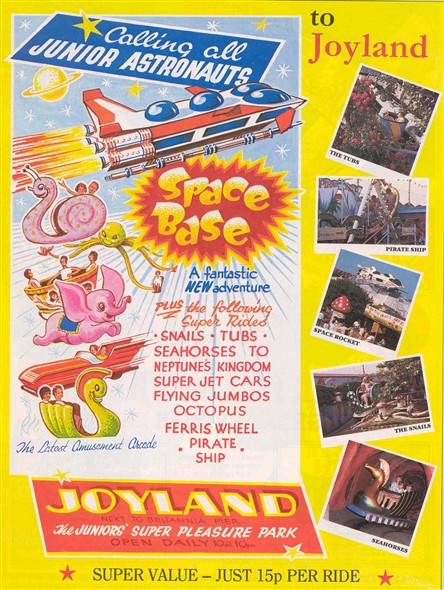 Photo:oyland advertisment from the Great Yarmouth Holiday guide, 1988