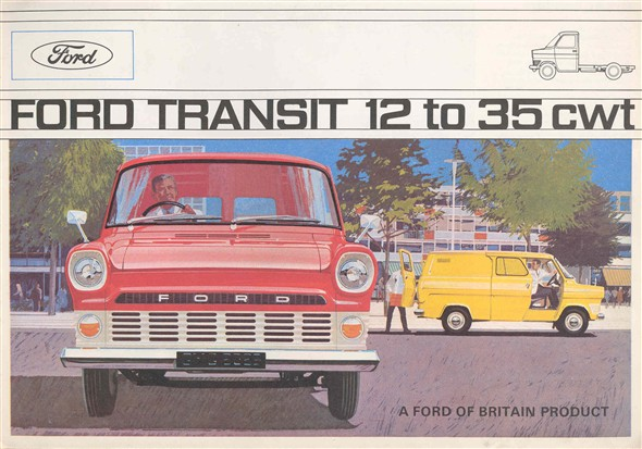 Photo:Brochure advertising the Ford Transit
