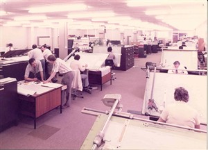 Photo:Photograph of the Central Mechanisation Electronic/Mechanical Design Office