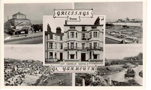 Photo:Promotional postcard of the St George Hotel, c.1950s