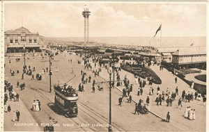 Photo:Royal Aquarium, Revolving Tower and entrance to Britannia Pier