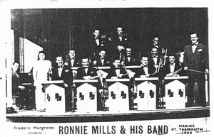 Photo:Ronnie Mills & his band, c1951
