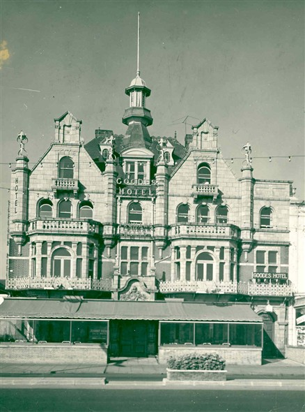 Photo:Goodes Hotel, Marine Parade, Great Yarmouth, c. 1950