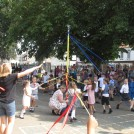 Photo:Maypole dance by Owl and Raven Class