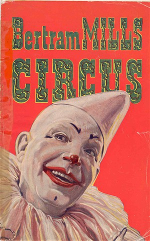 Photo:Bertram Mills circus programme, date unknown