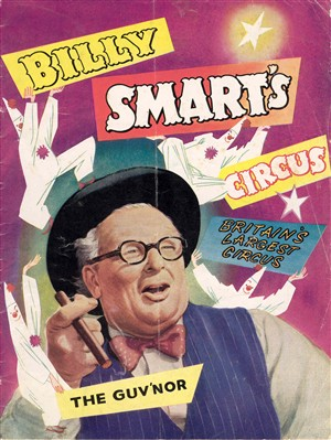 Photo:Billy Smart's circus programme, date unknown