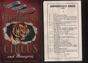 Photo:Extra information and a date for the Chipperfields Circus Programmep