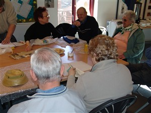 Photo:A reminiscence session with the TocH Group from Gorleston