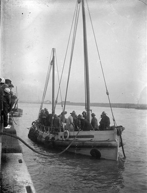 Photo: Illustrative image for the 'Volunteer Lifeboat Elizabeth Simpson' page