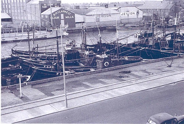 Photo: Illustrative image for the 'Fishing boats, the harbour and quayside in 1953' page