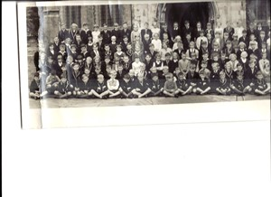 Photo: Illustrative image for the 'Priory School panorama photograph September 1960' page