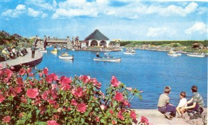 Photo: Illustrative image for the 'various pictures of the boating lake at various times' page