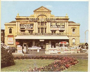Photo:The Royal Aquarium Theatre in the 1960s