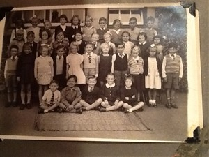 Photo:St Andrew's School, early 50's