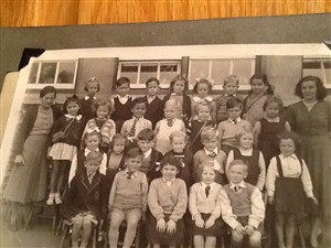 Photo:St Andrew's School, early 1950's