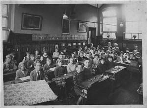 Photo: Illustrative image for the 'Stradbroke Road Infant School c1930' page