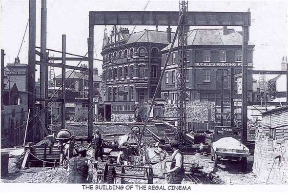 Photo:The building of the Regal Cinema