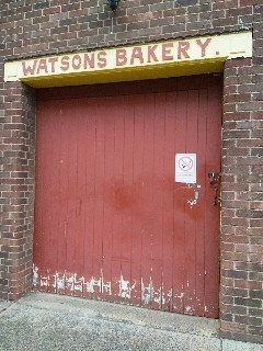 Photo:Side entrance of Watson's Bakery side road leading to F W Woolworth's September 2018