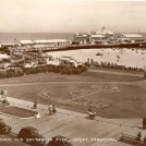 Photo:Postcard of Britannia Pier, the original source for the 'night' postcard that follows