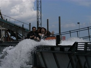 Photo:On the Log Flume