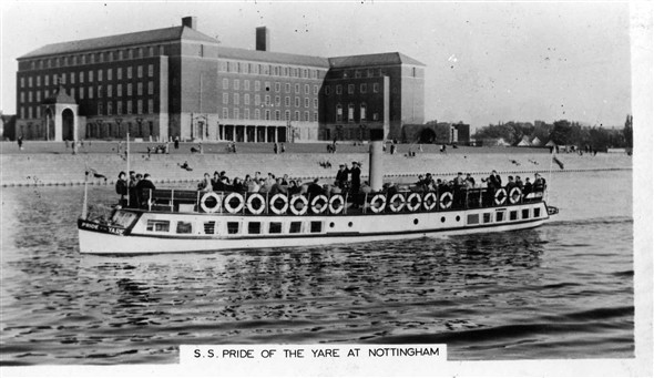 Photo:Pride of the Yare on the Trent