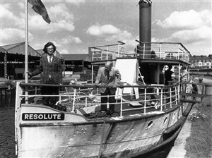 Photo:proud owners of resolute but who are they