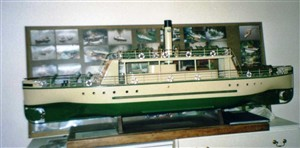 Photo:Model of the Resolute made by Mike Alsop