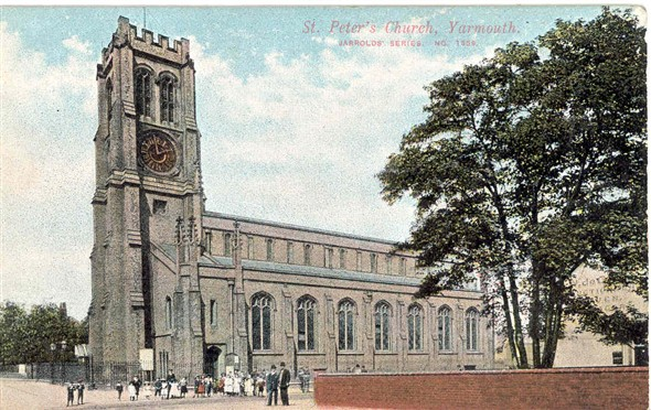 Photo:St Peters Church, Gt Yarmouth