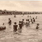Photo:Postcard showing the swimming pool