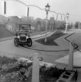 Photo:Veteran Car Ride, Pleasure Beach. Early 1960's