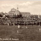 Photo:Postcard showing Wellington Pier Gardens and Bandstand