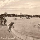 Photo:Postcard showing the Boating Lake